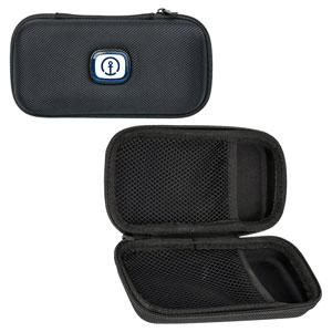 Travel Case  - Securely store and carry all of your accessories, including ear buds, cables, or any small gadgets.