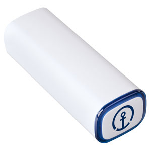 Powerbank  - The power bank with 2600 mAh capacity has an input of 5 V/1 A and an output of 5 V/1 A.