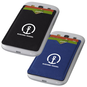 Dual Pocket RFID Phone Wallet - This RFID card sleeve will protect your credit and ID cards and keep your identity safe.
