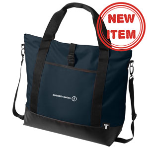 "Weekender 15"" Laptop Tote Bag - 15"" laptop tote which can also be carried as a messenger thanks to the adjustable and removable cross body shoulder strap."
