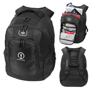 "Logan 15.6"" Laptop Backpack - 15.6"" laptop backpack made from durable material with dedicated padded tablet sleeve."