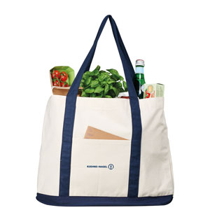 Canvas Shopping Bag - Large cotton tote to carry all of your purchases.