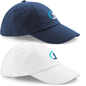 Low Profile Heavy Cotton Drill Cap - 100% heavy cotton, 5-panel, low profile cap.