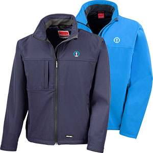 Men's Classic Soft Shell Jacket - 320 gsm soft shell jacket.